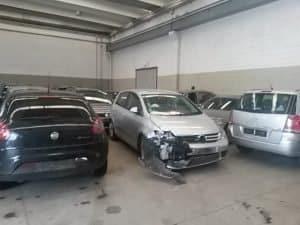 ritiro auto incidentate Alessandria