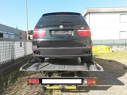 ritiro auto incidentate Genova