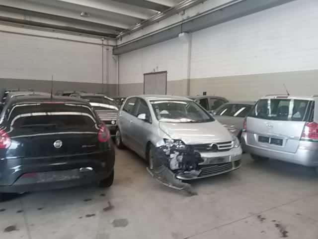 ritiro auto incidentate Pavia