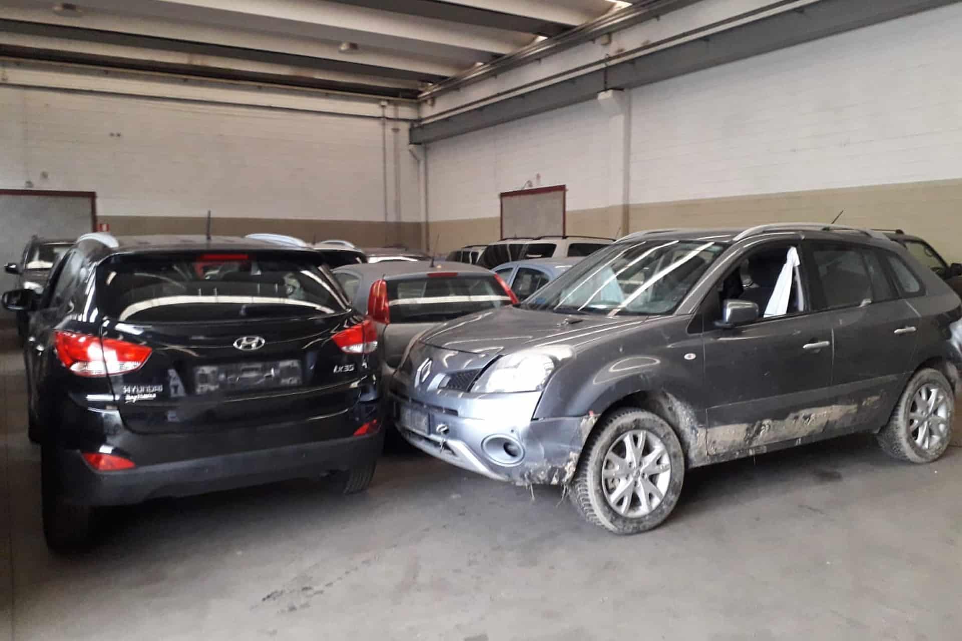 ritiro auto incidentate Torino