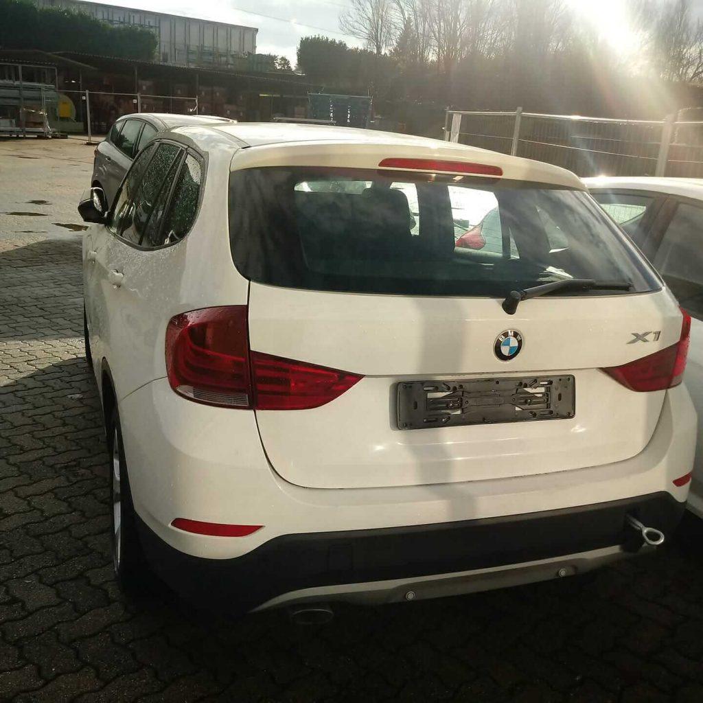 Frankcar Auto Usata BMW X1 Bianca Posteriore